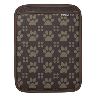 Cute Paw Print Sleeve For iPads