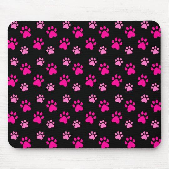 Cute Paw Prints mousepad