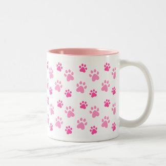 Cute Paw Prints mug