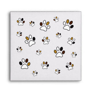 Cute Paws Envelope for Pet Lovers :)