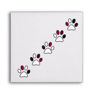 Cute Paws Envelope For Pet Lovers