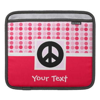 Cute Peace Sign iPad Sleeve