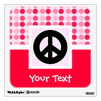 Cute Peace Sign Wall Decal