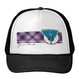 Cute Peacock; Purple Trucker Hat