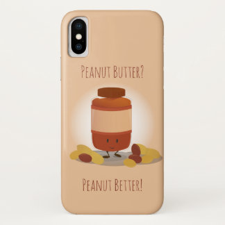 Cute Peanut Butter Jar | iPhone X Case