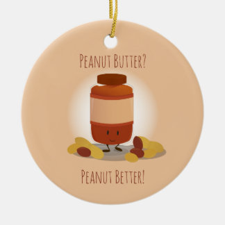 Cute Peanut Butter Jar | Ornament