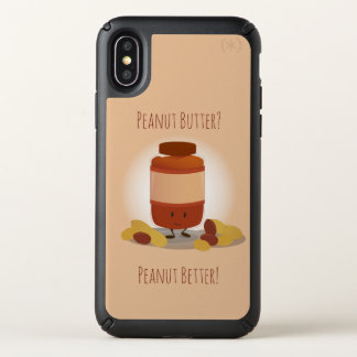 Cute Peanut Butter Jar | Speck iPhone X Case
