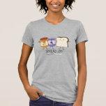 Cute Peanut Butter & Jelly & Bread Spread Joy T-Shirt