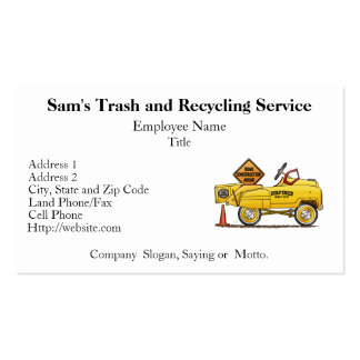 Cute Peddle Truck Peddle Car Double-Sided Standard Business Cards (Pack Of 100)
