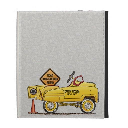 Cute Peddle Truck Peddle Car iPad Folio Case