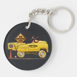 Cute Peddle Truck Peddle Car Keychain