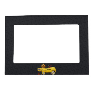 Cute Peddle Truck Peddle Car Magnetic Picture Frame