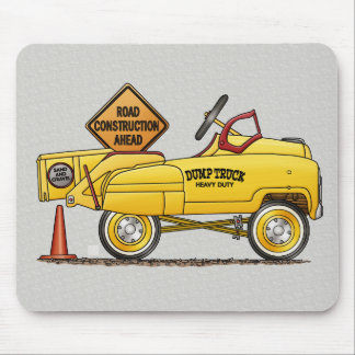 Cute Peddle Truck Peddle Car Mouse Pad