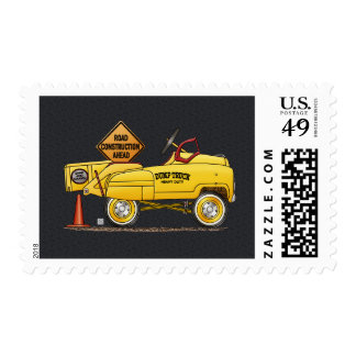 Cute Peddle Truck Peddle Car Postage Stamps