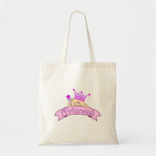 Cute Peeking Baby Princess Tote Bag