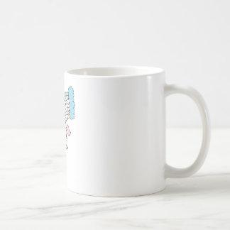 cute pegasus and rainbow design mugs