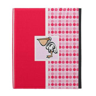 Cute Pelican iPad Folio Cases