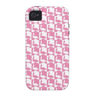 cute pelican pattern naples florida Case-Mate iPhone 4 cover