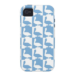 cute pelican pattern naples florida Case-Mate iPhone 4 covers
