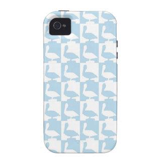 cute pelican pattern naples florida iPhone 4 case