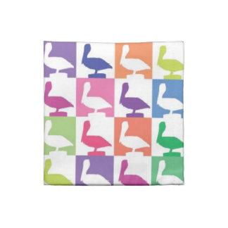 cute pelican pattern naples florida napkins