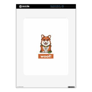 Cute Pembroke Cardigan Welsh Corgi Pet Dog Lover Decals For iPad