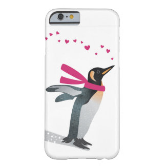 Cute penguin blowing heart kisses. barely there iPhone 6 case