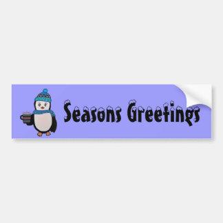 Cute Penguin Bumper Sticker