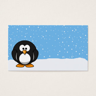 Cute Penguin Business Card