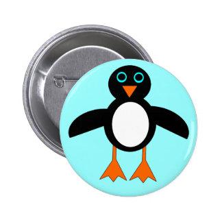 Cute Penguin Button