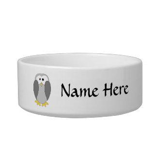 Cute Penguin Cartoon. Bowl