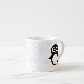 Cute penguin cartoon espresso cup