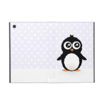 Cute penguin cartoon iPad mini cover