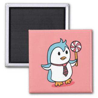Cute Penguin Cartoon Magnet
