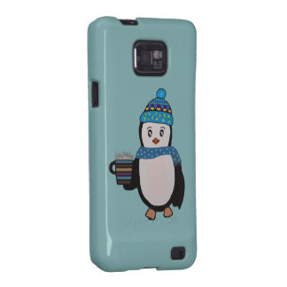 Cute Penguin Case Samsung Galaxy S2 Covers