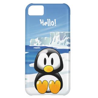 Cute Penguin Case For iPhone 5C