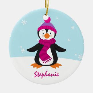 Cute Penguin Christmas Ornament