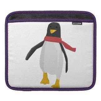 Cute Penguin Clip Art Sleeve For iPads