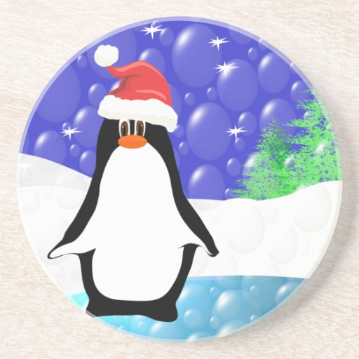 Cute Penguin Coasters Zazzle