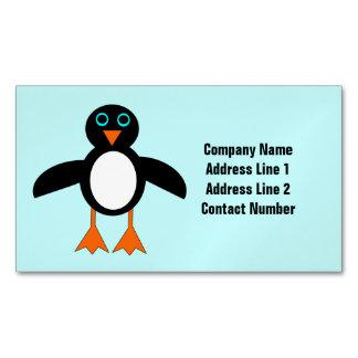 Cute Penguin Custom Business Cards