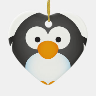 Cute Penguin design Ceramic Ornament