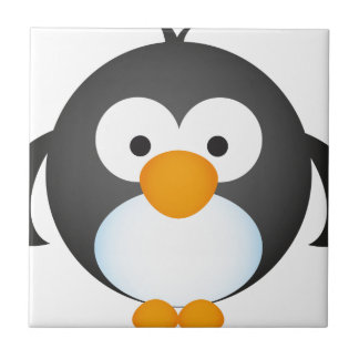 Cute Penguin design Ceramic Tile