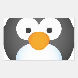 Cute Penguin design Rectangular Sticker