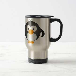Cute Penguin design Travel Mug