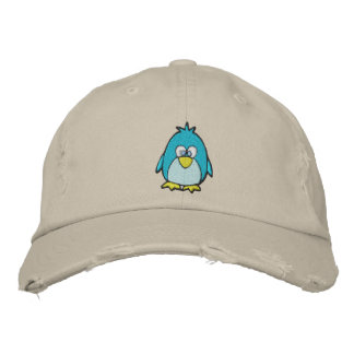 cute penguin embroidered baseball hat