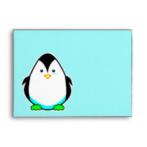 Cute Penguin Envelopes