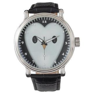 Cute Penguin Face Wristwatches