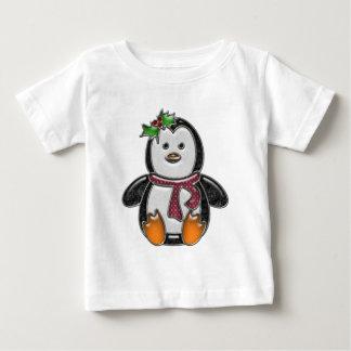 Cute Penguin Faux Jewel Character Shirt