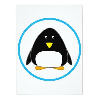 Cute Penguin Invitations