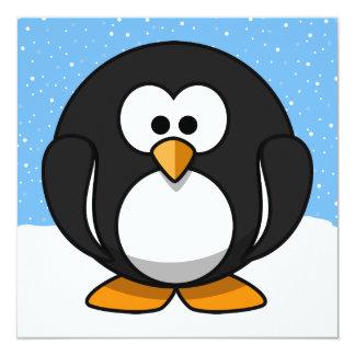 Cute Penguin Invitation